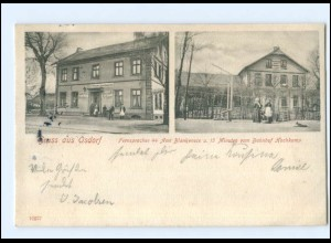 XX002451/ Hamburg Gruß aus Osdorf 1902 AK