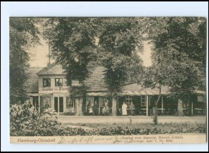 XX002707/ Hamburg Ohlsdorf Gasthaus zum Alstertal AK 1910