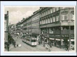 XX002250-091./ Chemnitz Poststraße Straßenbahn 1942 Foto AK