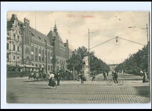 XX002332/ Pommern Stettin Paradeplatz AK