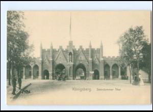 XX002328/ Königsberg Steindammer Tor ca.1900 AK