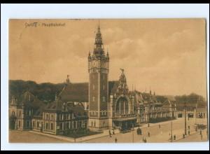 XX002323/ Danzig Hauptbahnhof 1914 AK