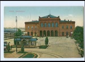 XX002322/ Posen Hauptbahnhof 1916 AK