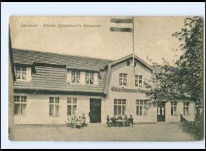 XX004361-174/ Caminke Schünemann`s Restaurant Kamminke AK 1915