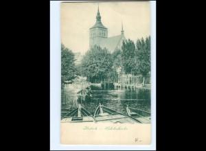 XX002342-18./ Rostock Nikolaikirche ca.1900 AK