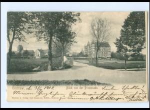XX002390-182./ Güstrow Blick von der Promenade 1902 AK