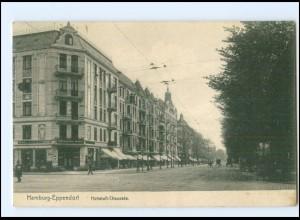 XX002304/ Hamburg Eppendorf Hoheluftchaussee 1913 AK