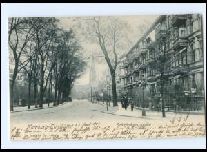 XX002610/ Hamburg Eimsbüttel Schäferkampsallee 1904 AK
