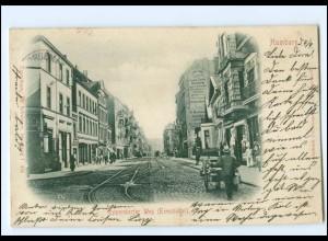 XX002701/ Hamburg Eimsbüttel Eppendorfer Weg AK 1899