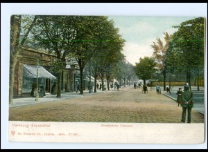 XX002608/ Hamburg Eimsbüttel Eimsbütteler Chaussee 1905 AK