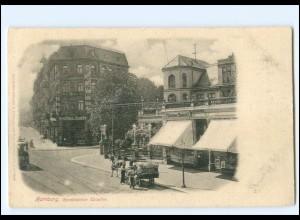 XX002619/ Hamburg Eimsbüttel Eimsbütteler Chaussee 1898 AK
