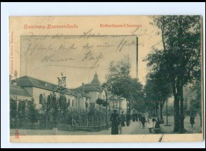 XX002614/ Hamburg Harvestehude Rotherbaumchaussee 1900 AK