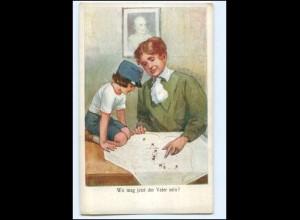 Y10686/ Mutter und Kind 1. Weltkrieg Ak ca.1915