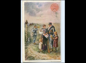 Y10692/ Kriegsjahr 1914 Witwen- und Waisenhilfsfond AK 1914