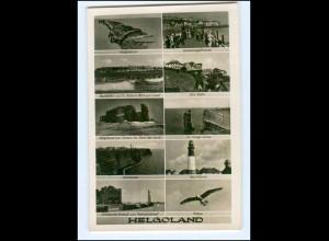 U4242/ Helgoland Foto Ak ca.1935