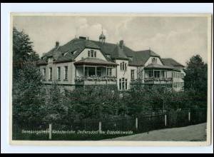 Y10452/ Seifersdorf bei Dippoldiswalde Genesungsheim 1933 AK