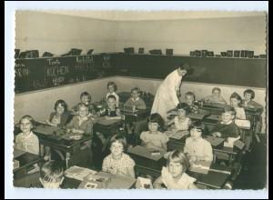 Y10704/ Schulklasse Schulkinder 1960 Foto AK