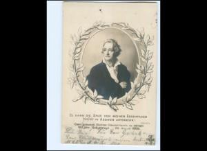 Y10681/ Goethe 150 jähr. Geburtstag 1899 Foto AK
