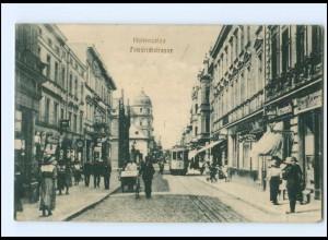 XX002742/ Hohensalza Friedrichstr. Straßenbahn Ak 1914 Posen