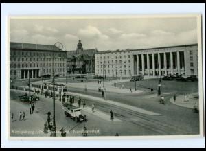 XX002788/ Königsberg Hansaplatz Nordbahnhof Straßenbahn AK ca.^1938
