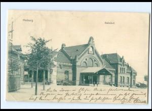 XX003728/ Hamburg Harburg Bahnhof AK 1901