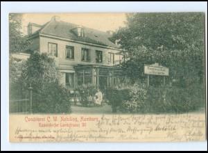 XX002963/ Hamburg Eppendorf Konditorei Nobiling Eppendorfer Landstr.20 AK 1902