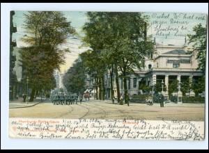 XX003775/ Hamburg Rotherbaum Grindelberg AK 1906