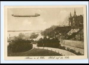 XX003766/ Hamburg Altona Zeppelin AK ca.1912