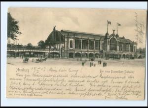 XX004085/ Hamburg Der neue Dammtor-Bahnhof AK 1903