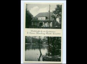 XX003735/ Hamburg Rissen Waldkaffee bei den Fischteichen AK 1942
