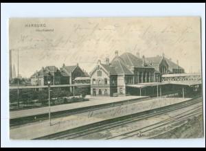 XX003723/ Hamburg Harburg Bahnhof AK 1905