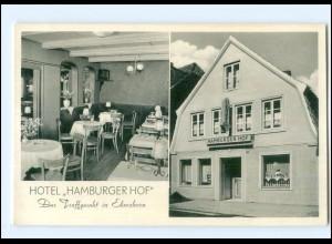 U4167-2200/ Elmshorn Hotel Hamburger Hof Ak ca.1955