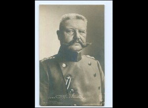 Y10627/ Generaloberst v. Hindenburg Foto Ak ca.1914