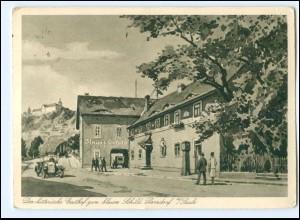 U4210-077./ Dorndorf a/Saale Gasthof zum blauen Schild AK 1943