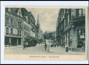 XX003122-6680/ Neunkirchen Saar Stummstr. Straßenbahn AK 1917