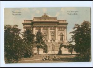 Y10772/ Warszawa Warschau Universität Polen AK 1916