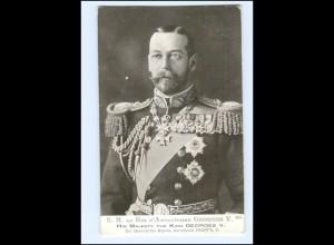 Y10722/ King Georges V. mit Ehrenzeichen AK 1914