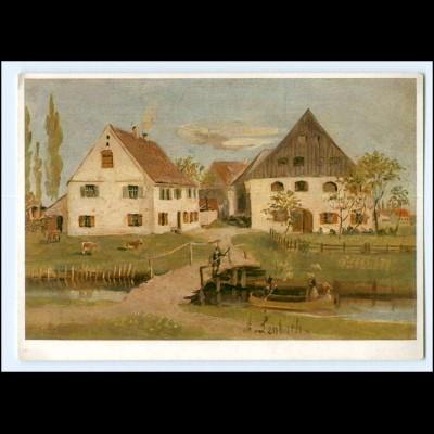 DP489/ 100. Geburtstag von Franz Lenbach Erinnerungskarte AK 1936 Schrobenhausen