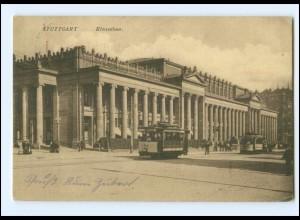 XX003467/ Stuttgart Königsbau Straßenbahn 1911 AK