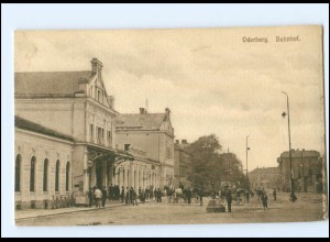 XX003267/ Oderberg Bahnhof AK 1914 Österr.-Schlesien