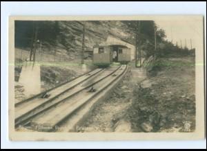 XX003261/ Bergen Flöibanen Bergbahn Norwegen Foto AK 1919
