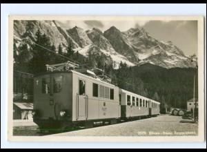 XX003269/ Eibsee Bayer. Zugspitzbahn Eisenbahn Foto AK 1938