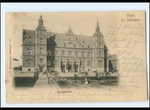 XX003330/ Dänemark Hilsen fra Helsingor Banegaarden 1903 AK