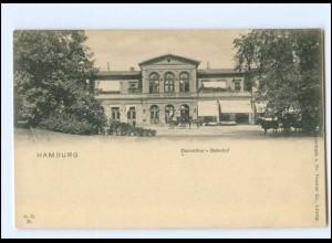 XX003278/ Hamburg Dammthor-Bahnhof AK ca.1900