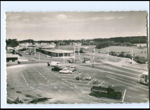 XX003282/ Flensburg Deutsch-Dänische Grenze Autso LKW AK 1958