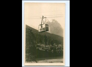 XX003289/ Kreuzeckbahn Seilbahn bei Garmisch Foto AK 1928