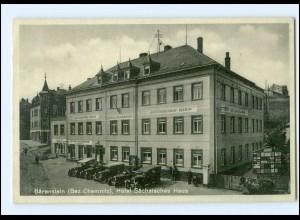 XX003479-094./ Bärenstein Bez. Chemnitz Hotel Sächsisches Haus AK
