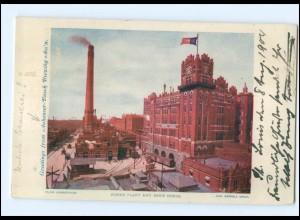 XX003299/ St. Louis USA Anheuser-Busch Brewing Brauerei Bier AK 1904