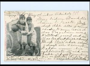 XX009782/ American Foot Ball Kinder AK 1901 USA
