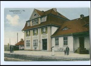 XX003627-999/ Langensalza Ostbahnhof Bahnhof AK ca.1912